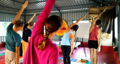 Yoga teacher training in Mysore India with Vijay Gopala